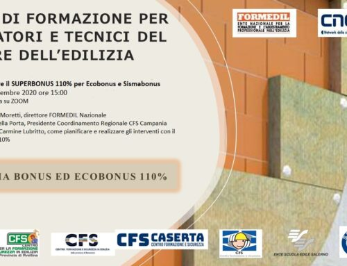 Efficientamento energetico e sismico: il SUPERBONUS 110%